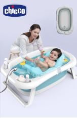[Bảo hành 6 tháng] Thau tắm bé gấp gọn CHICCO có cảm biến nhiệt độ, giúp tắm bé an toàn và thông minh