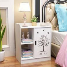 Kệ đầu giường chia ngăn màu trắng thanh lịch (Mới) – HOME DECOR