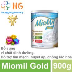 Sữa Miomil Gold – Bổ sung vi chất dinh dưỡng. Hỗ trợ tim mạch, huyết áp, chống lão hóa (Hộp 400g)