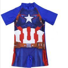 Đồ bơi áo bơi liền quần cho bé trai từ 3-9 tuổi hình siêu nhân,người nhện