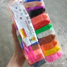 Đất sét Nhật làm slime 12 màu