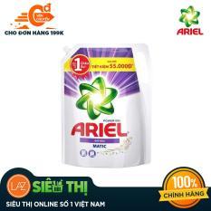[Siêu thị Lazada] – Túi nước giặt Ariel Matic Color gel đậm đặc 2.15kg