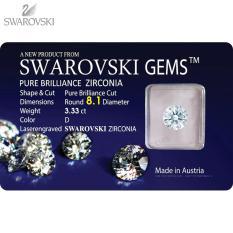 Kim Cương Nhân Tạo 8.1LY Chuẩn – Swarovski Gems (Cộng hòa Áo)