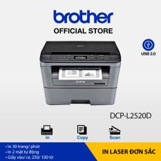[Trả góp 0%]Máy in laser đa năng Brother DCP-L2520D