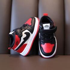 Giày Boot trẻ em SNEAKER bé trai, gái gảy đỏ CG48