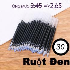 Combo 30 – 100 Ruột Bút Mực Gel Tiện Lợi Tím Xanh Đỏ Đen
