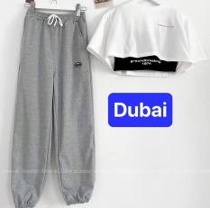 QUẦN JOGGER THỂ THAO NAM NỮ SPUN 3 MÀU UNISEX THOÁNG MÁT CAO CẤP – DUBAI FASHION