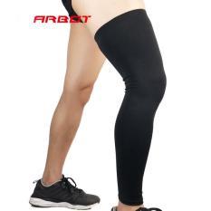 Bó ống chân thể thao – tất bảo vệ chân loại dài co giãn – đen