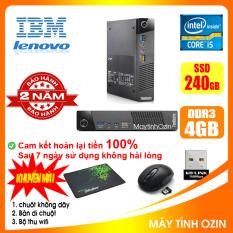 Case máy tính mini IBM CPU i5 4430 / RAM 4GB / SSD 240GB