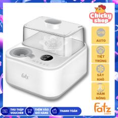 [HCM]Máy tiệt trùng sấy khô điện tử có tích hợp máy hâm sữa Captain 1 Fatzbaby FB4320SJ (BH 12 tháng) Chính hãng