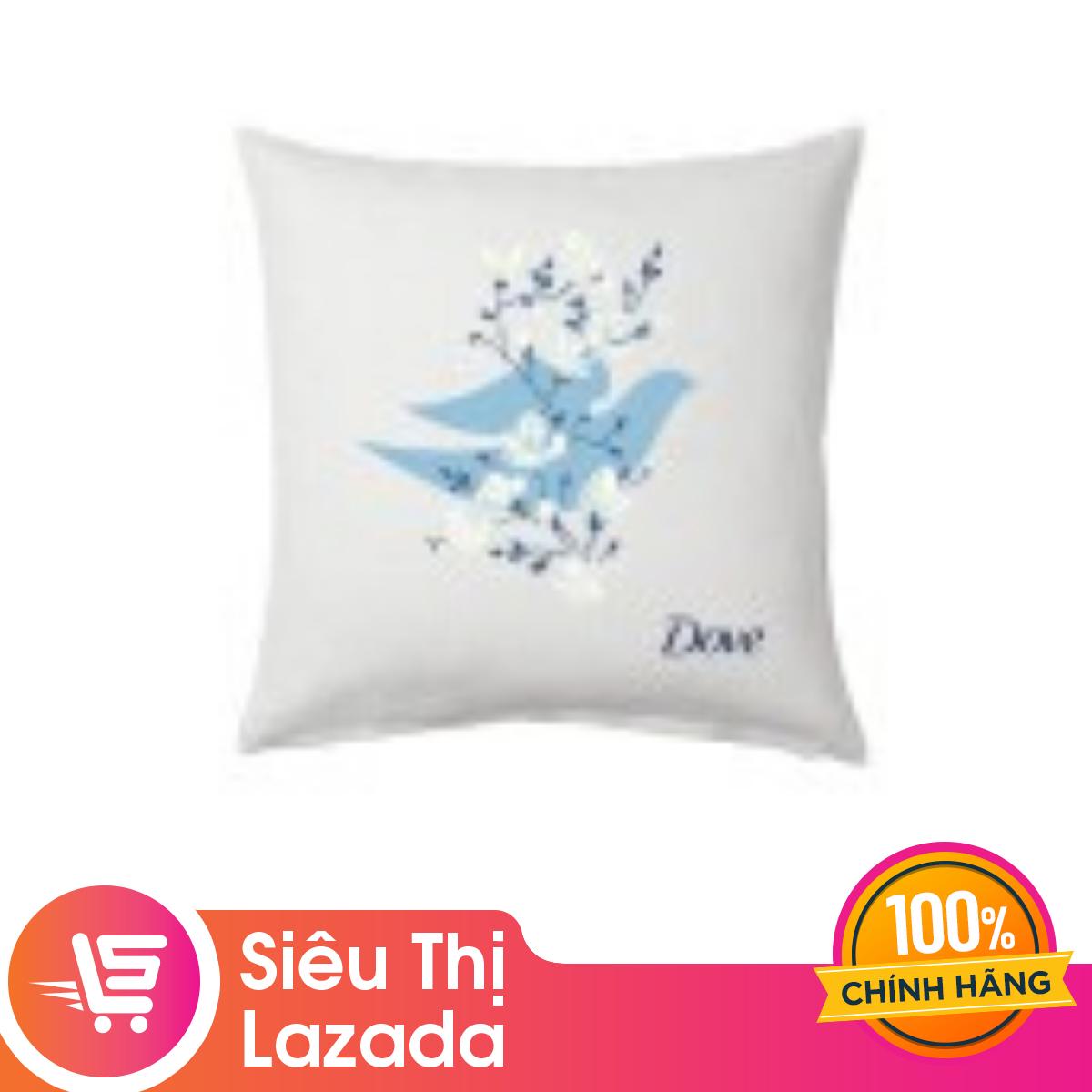 [Siêu thị Lazada] Gối tựa lưng Dove-Màu giao ngẫu nhiên – chất liệu vải bố chốn bám bụi ruột gối bằng bông mềm mại