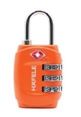 Khóa số vali, túi du lịch, locker Hafele chuẩn TSA, dạng khóa xoay, an toàn, dễ sử dụng