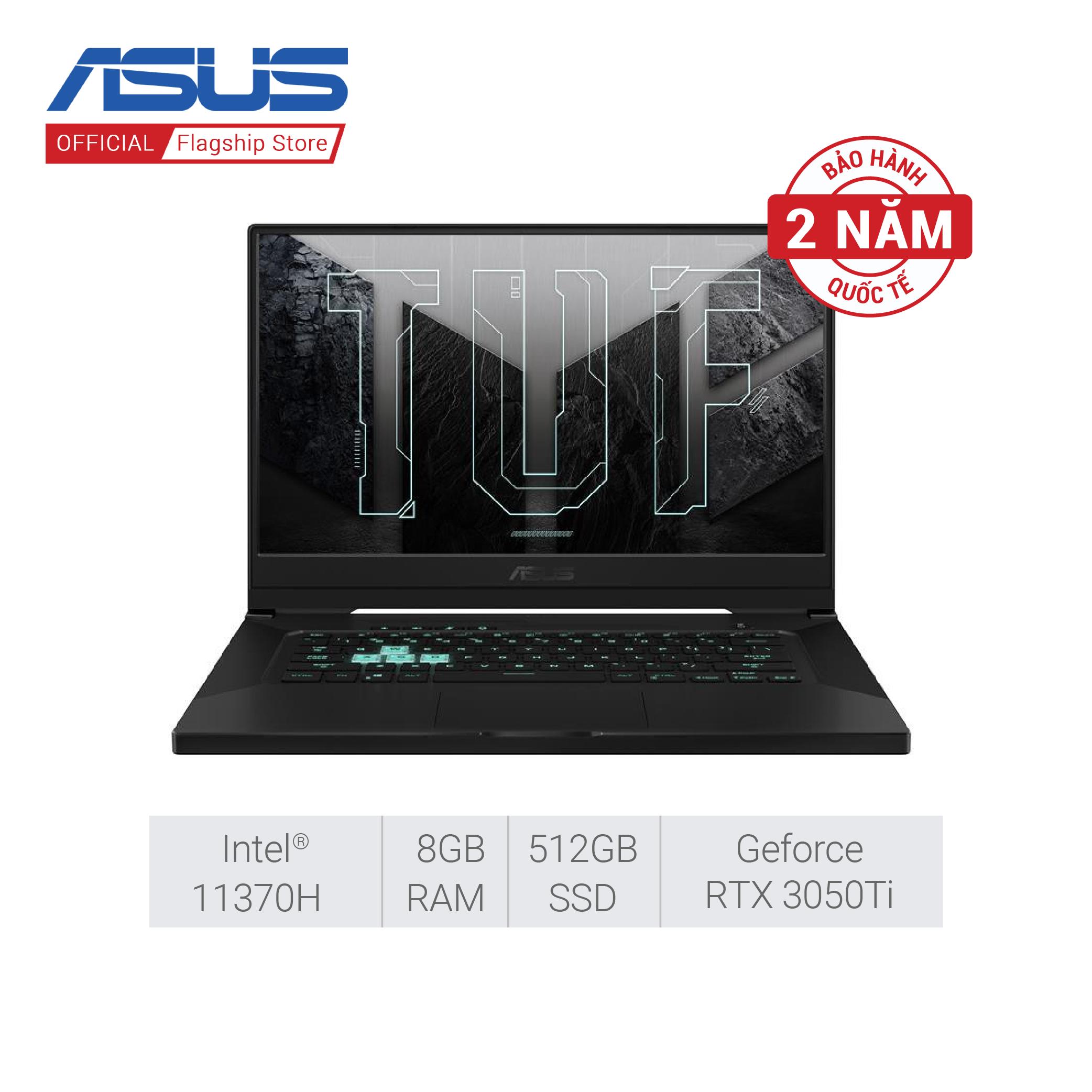 [SUPER SALE 21.09] Laptop Gaming Asus TUF FX516PE-HN005T (Core i7-1137H/8GB RAM/512GB SSD/15.6-inch FHD 144hz/4GD6_RTX3050Ti/Win10)