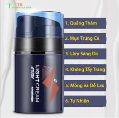 (Xả Kho) LightCream Makeup Nâng Tone Che Khuyết Điểm Kem Trang Điểm 4in1 Dành Cho Nam