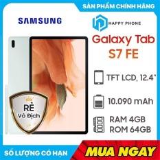 Máy tính bảng Samsung Galaxy Tab S7 FE (4GB/64GB) – Hàng chính hãng, Mới 100%, Nguyên Seal   Bảo hành 12 tháng