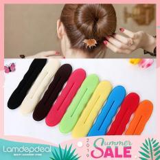 [FS 99K + COMBO GIẢM GIÁ 12K] Dụng cụ búi tóc tròn tạo kiểu tóc củ tỏi nữ tính duyên dáng – phụ kiện tóc độc đáo cho bạn gái – Lamdepdeal