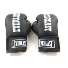 Găng đấm boxing Everlast 8OZ (Đen) Binhansport