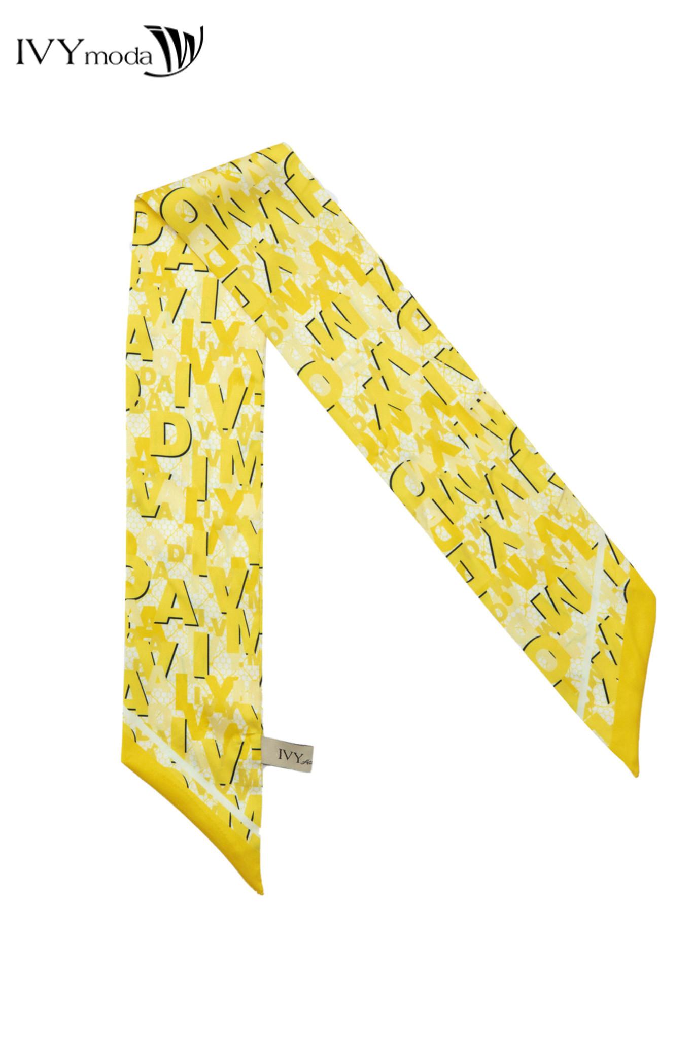Khăn lụa nữ dáng dài thanh lịch IVY moda MS 50M6594