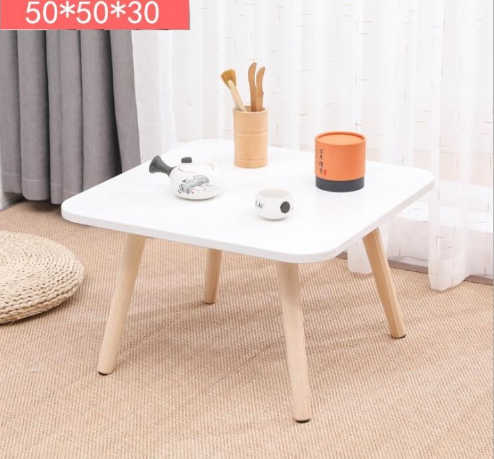 [NEW] Bàn trà sofa/cafe ngồi bệt hiện đại hình vuông
