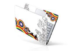 Mẫu Dán Laptop Hoa Văn LTHV – 182