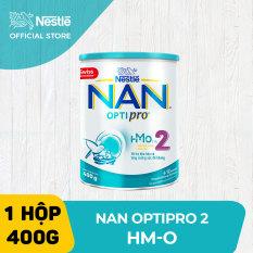 Sữa bột Nestle NAN Optipro 2 HM-O cho trẻ từ 6-12 tháng tuổi 400g (Mẫu mới)