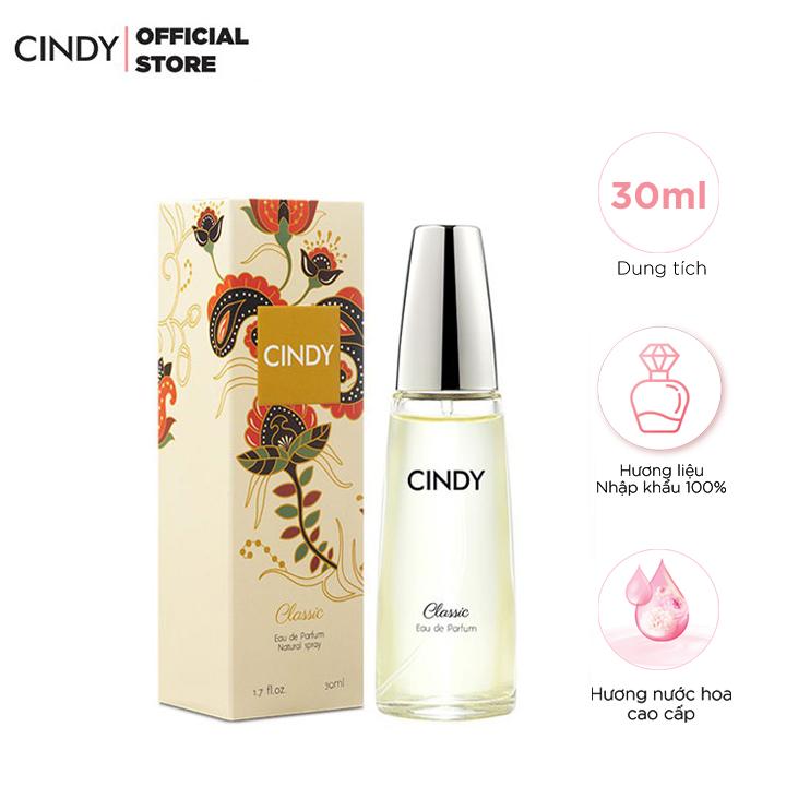 Nước Hoa Nữ Cindy Classic 30ml – Cổ Điển