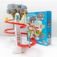Bộ đồ chơi đường đua Oto Poli cho bé Cao Cấp