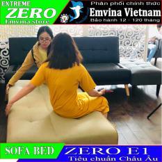 SOFA GIƯỜNG – SOFA BED ZERO EMHOME tiêu chuẩn xuất khẩu EU, Gỗ thông ôn đới MỸ vải Malaysia, Emvina Viet Nam