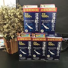 Viên uống sụn vi Cá Mập Squalene Orihiro 360 viên của Nhật Bản