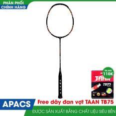 Vợt cầu lông APACS NANO 9900 new Đen /đỏ Tặng kèm dây đan vợt =quấn cán vợt