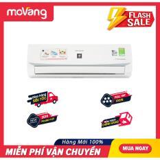 [TRẢ GÓP 0%] Máy lạnh Sharp Inverter 1 HP AH-XP10WMW Mẫu 2019