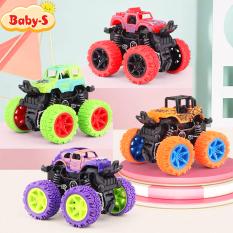Xe ô tô đồ chơi, Xe đồ chơi cho bé vượt địa hình nhào lộn 360 độ chạy đà cực mạnh bằng nhựa nguyên sinh ABS Baby-S – SDC056