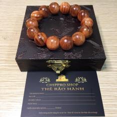 Vòng tay gỗ huyết long 16mm ( Huyết rồng ) – Trang sức Phong Thủy – Vòng tay Phong thủy may mắn tài lộc – Chippro Shop