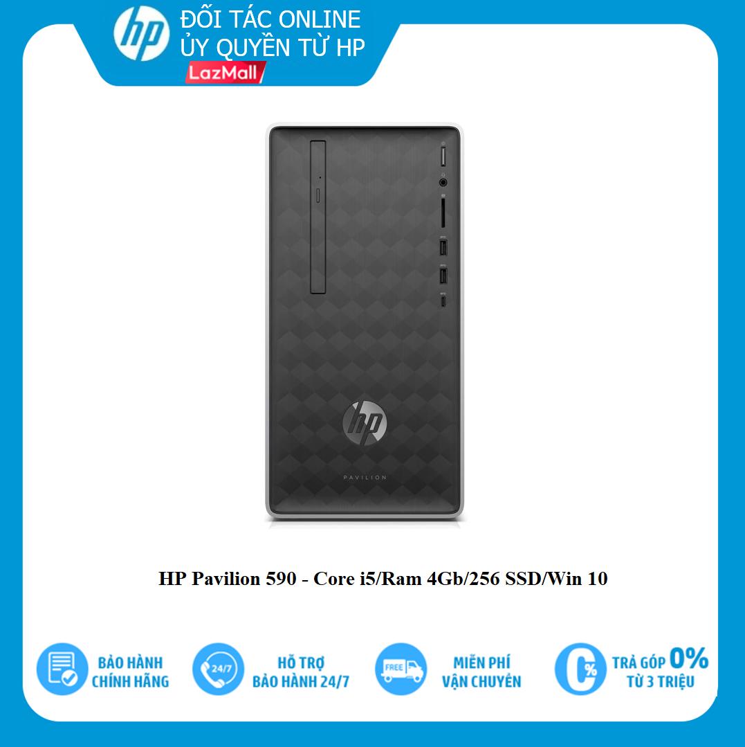 Máy tính để bàn HP Pavilion 590-P0114d 6DV47AA/ Core I5/Ram 4gb/ 256gb Ssd/ Windows 10 home, đa dạng sản phẩm, cam kết sản phẩm như hình, hàng như mô tả