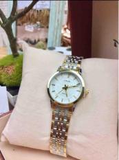 Đồng hồ nữ Halei ,dây pha vàng cao cấp halei