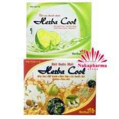 ✅ Bột nước mát Herba Cool – Thanh nhiệt, mát huyết, lợi tiểu, giảm nóng trong người