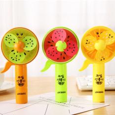[HCM]Quạt mini cầm tay cute quạt mini hàn quốc siêu mát hình trái cây ngộ nghĩnh an toàn cho bé BBShine – F012