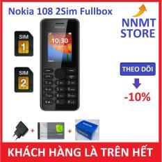 Điện thoại Nokia 108 2 SIM – (Máy pin sạc) – Hàng công ty Chính Hiệu – NNMT Store