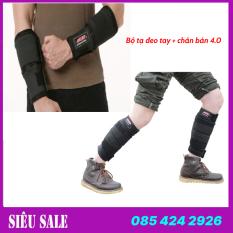 Bộ tạ đeo tay 3 kg + tạ đeo chân 4 kg phiên bản 4.0 – Hỗ trợ tập luyện mọi nhóm cơ, nâng cao thể lực, phát triển chiều cao, sức bật và sức bền