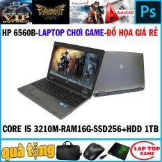 [Nhập ELMAR31 giảm 10% tối đa 200k đơn từ 99k]Laptop game và đồ họa giá tốt- HP Pobook 6560B Core i5 2450M/ Ram 16G/ SSD 256G+ HDD 1TB/ VGA HD 3000/ Màn 15.6 inch/ Có Phím Số/ Vỏ nhôm / Dòng máy bền bỉ/ Loa to
