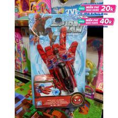 5991-1 – Găng tay siêu nhân người nhện Spider man bắn tơ – đồ chơi siêu nhân Spider man