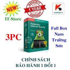 KASPERSKY INTERNET SECURITY 3PC/Năm – BOX NAM TRƯỜNG SƠN
