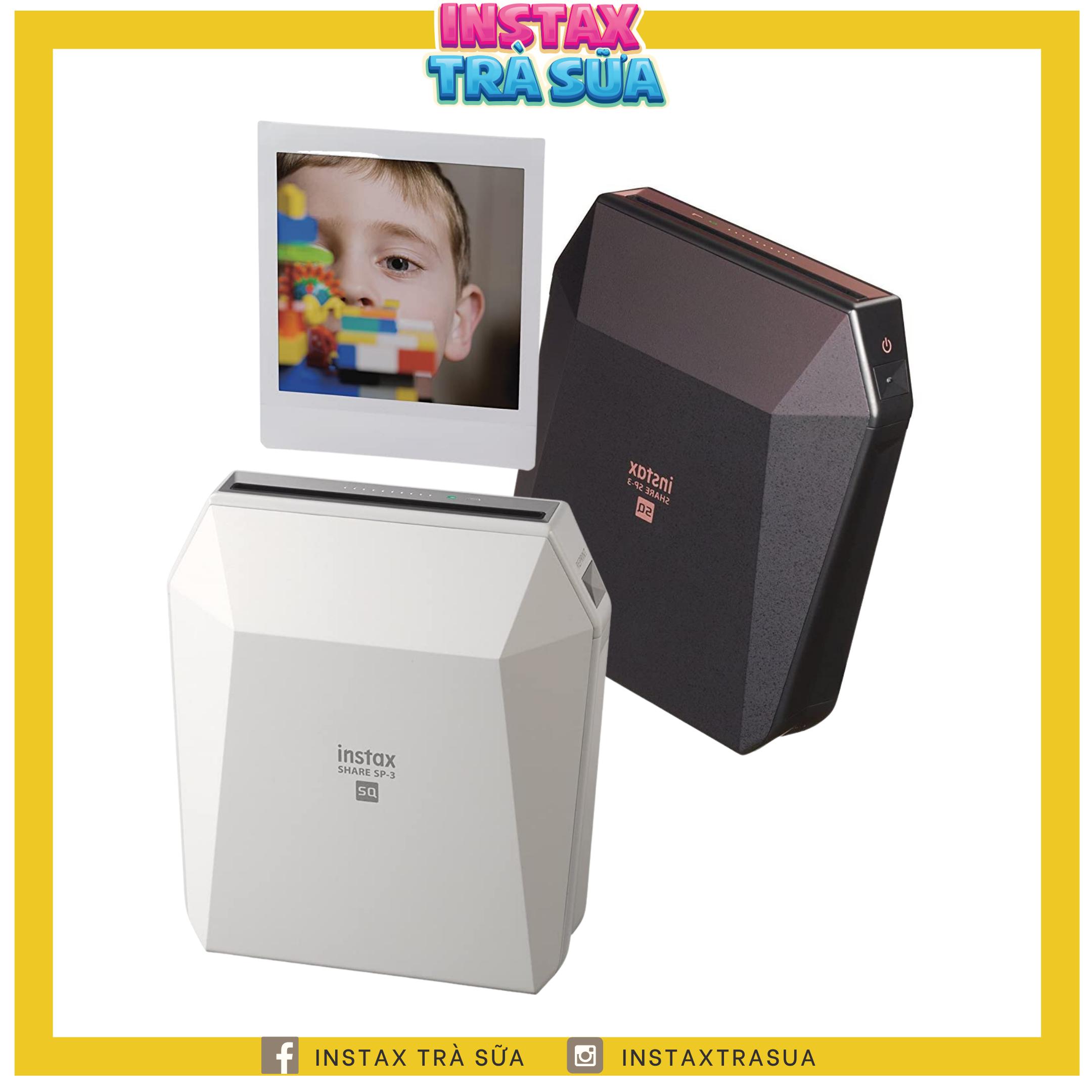 Instax Printer SHARE SP-3 – Máy in ảnh từ điện thoại di động Fujifilm – Chính hãng BH 1 năm – Tặng kèm 10 films