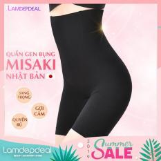 [FS 99K + COMBO GIẢM GIÁ 12K] Quần gen bụng định hình MISAKI Nhật Bản – Quần giảm mỡ, eo thon, bụng phẳng – Made in Japan – Lamdepdeal