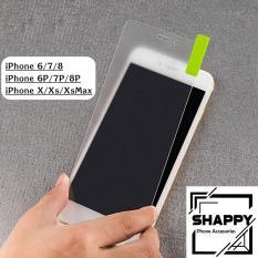 Kính Cường Lực Nhám Không Viền Chống Vân Tay Iphone 6/7/8/X/XR/XsMax [Shappy Shop]