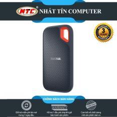 [TẶNG 10 BAO LÌ XÌ] Ổ cứng di động SSD Sandisk Extreme Portable E60 USB 3.1 1TB 550MB/s (Đen) – Nhất Tín Computer