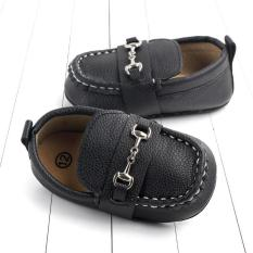 Giày lười đế mềm cho bé trai – giày da cho bé trai và bé gái