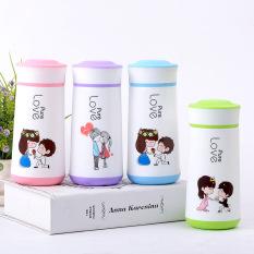 Bình Thuỷ Tinh Vỏ Bọc Nhựa PP Giữ Nhiệt Love Pure 350ml MS.15