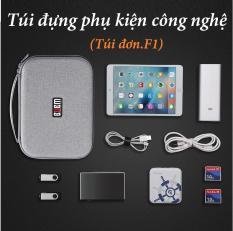 Túi đựng phụ kiện công nghệ( Túi đơn_ F1)