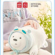 Gấu Bông Thú Gấu bông Let's Bare Bear Fun Pose Doll Miniso